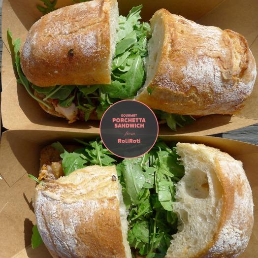 Roli Rota Porchetta Sandwich